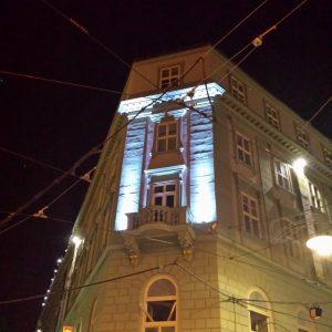 Osvětlení Paláce PADOWETZ