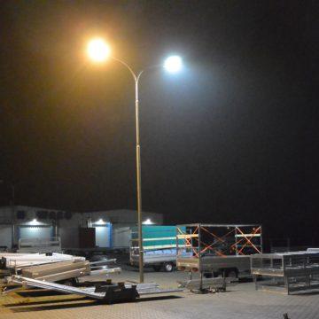 LED osvětlení venkovních ploch AGADOS