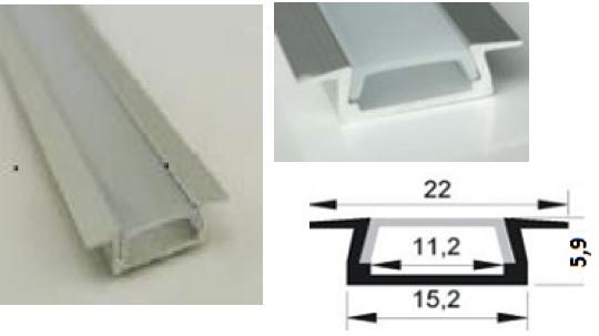 Ceník lišt AL pro LED pásky