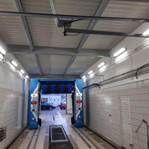 Autocentrum KEI – mycí linka